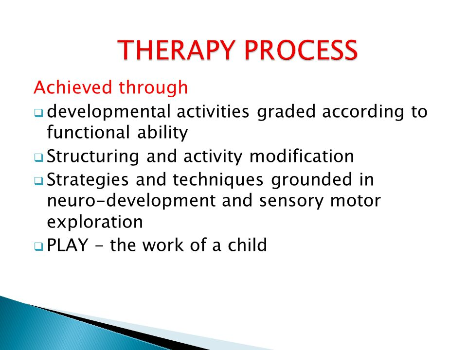  Use knowledge of normal development, neurological constructs and development, behavior and sensory processing.