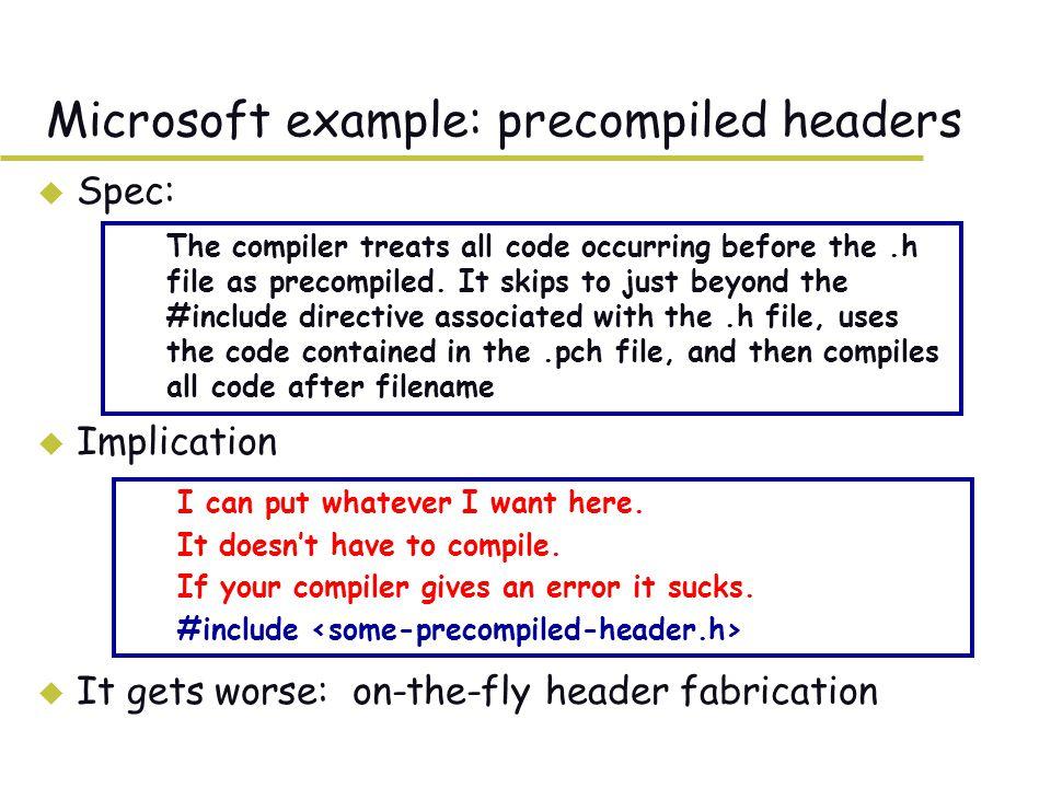 Solution: pre-preprocessing rewrite rules.