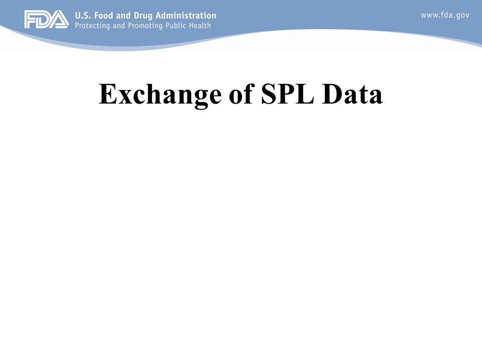 Exchange of SPL Data