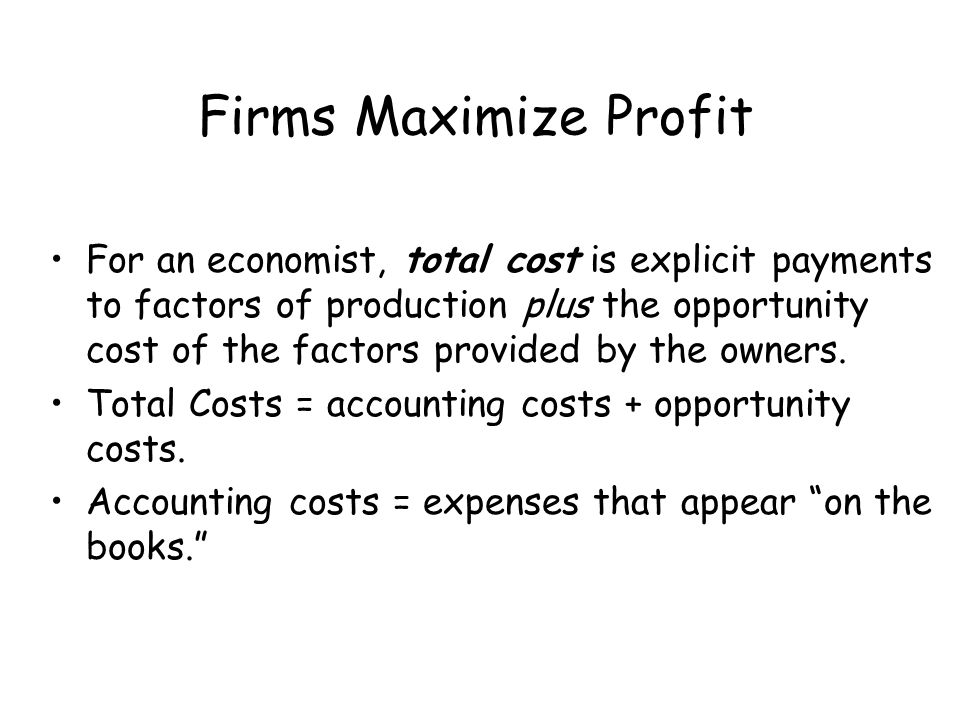 Production and Cost Analysis: Part I End of Chapter 9