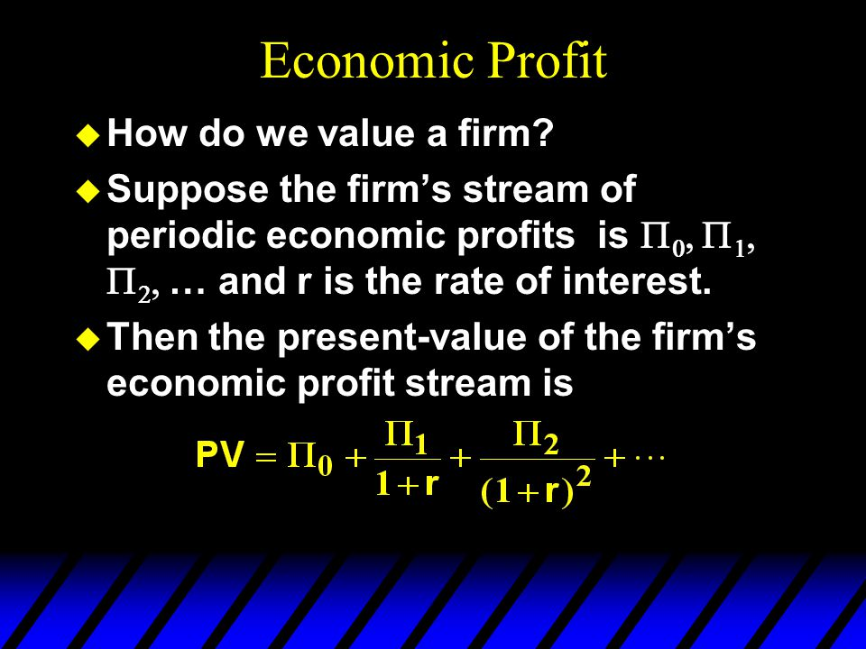 Revealed Profitability x y is chosen at prices so is profit-maximizing at these prices.