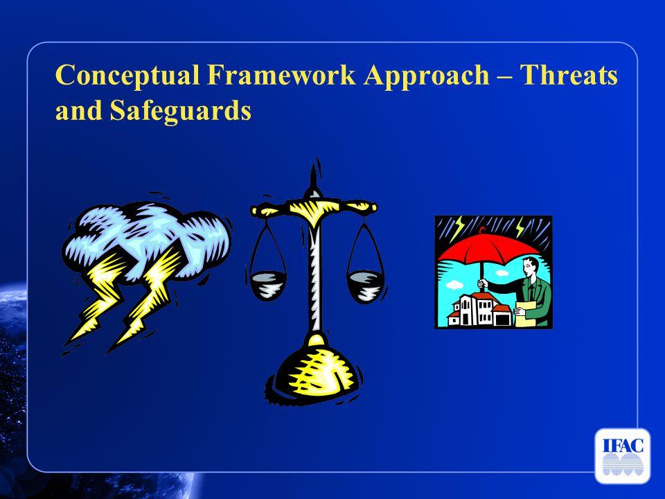 Conceptual Framework Approach – Threats and Safeguards