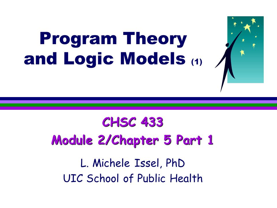 Program Theory and Logic Models (1) CHSC 433 Module 2/Chapter 5 Part 1 L.