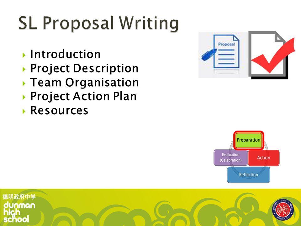  Introduction  Project Description  Team Organisation  Project Action Plan  Resources