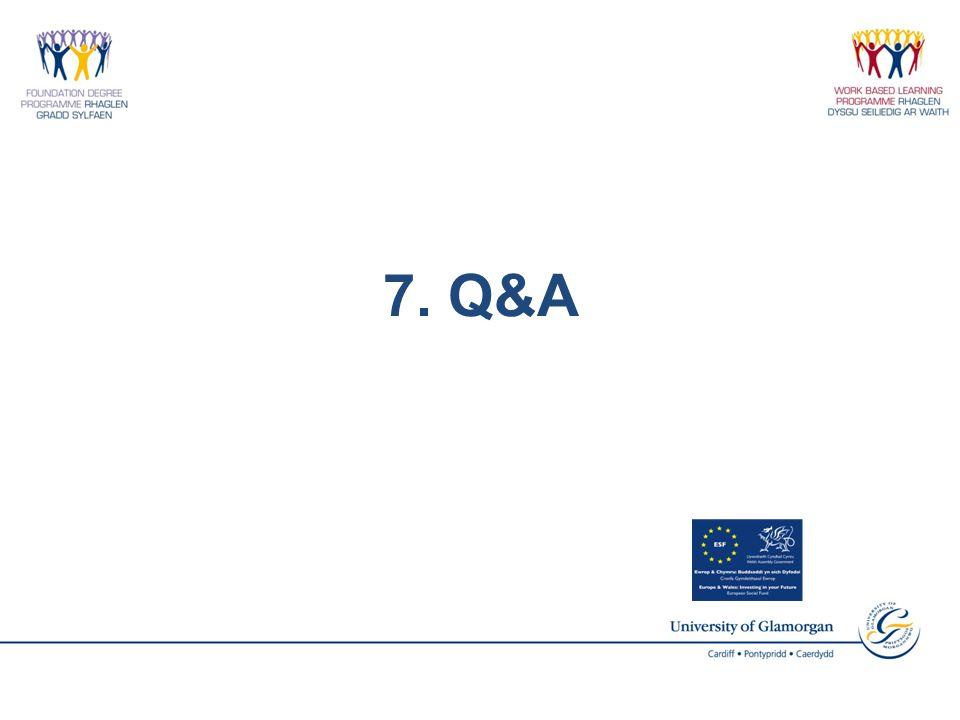 7. Q&A