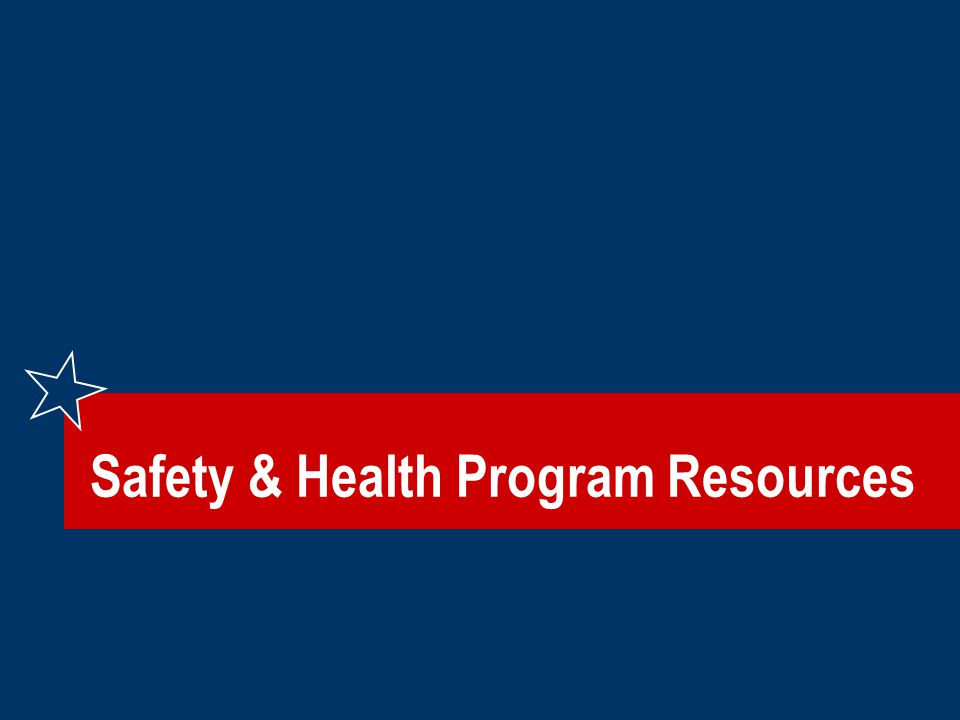 Safety & Health Program Resources