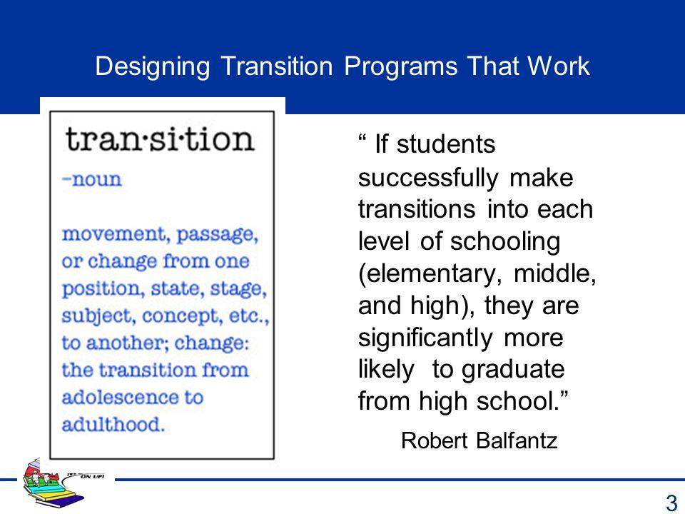 Major Milestones 4 Elementary/ Kindergarten Middle School High School Post-Secondary Education/Career