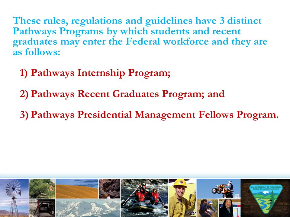 The Recent Graduates (RG) Program is a new program similar in nature to the Federal Career Internship Program (FCIP).