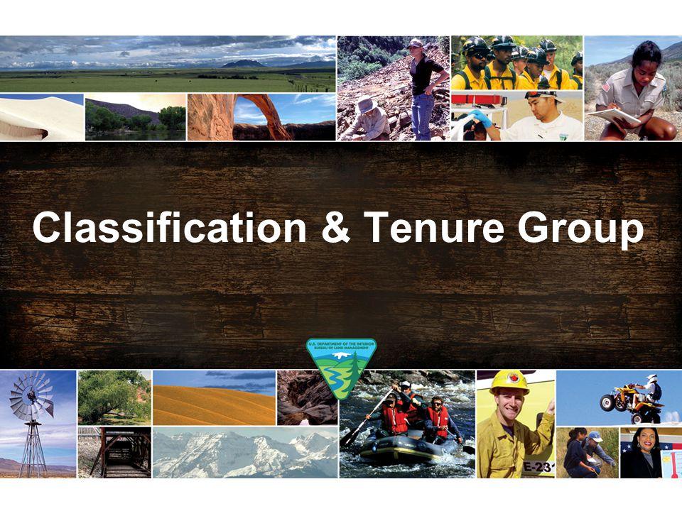 Classification & Tenure Group