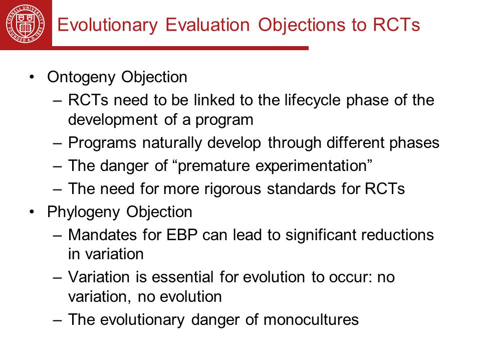 A Competitive Practice Evaluation & Assessment Trial (ComPEAT) Designed for situations where practitioners believe they have a program that can successfully compete with the EB program(s) –Most appropriate when EBPs are mandated (in fact or in practice) Most practitioner-driven programs do not have the resources/expertise to conduct an RCT Compares practice-evolved program to compete directly with relevant EBP Does not require control groups Allows current practice-evolved program to be conducted as normal except for the addition of pre-post measurement of key outcome(s)