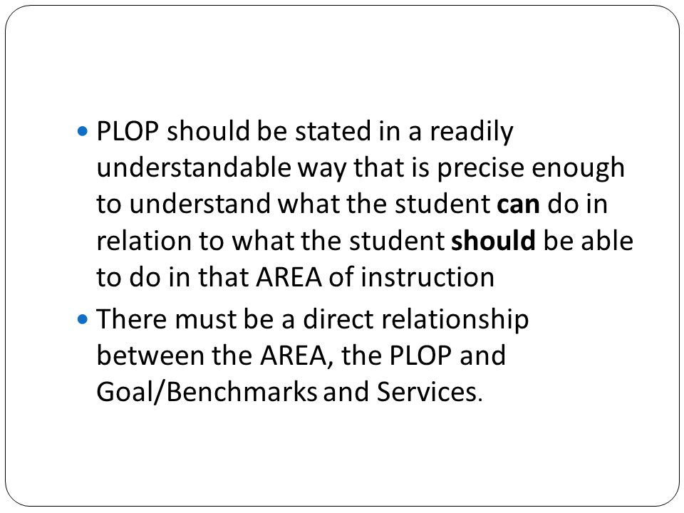 Measurable Goals and Benchmarks Measurable annual goals, including benchmarks or short-term objectives, are critical to the strategic planning process used to develop and implement the IEP of a child with a disability.