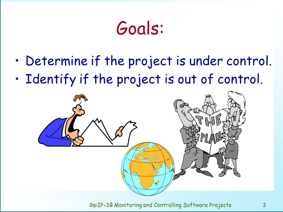 GpiIP-3B Monitoring and Controlling Software Projects24 Software project crisis management.