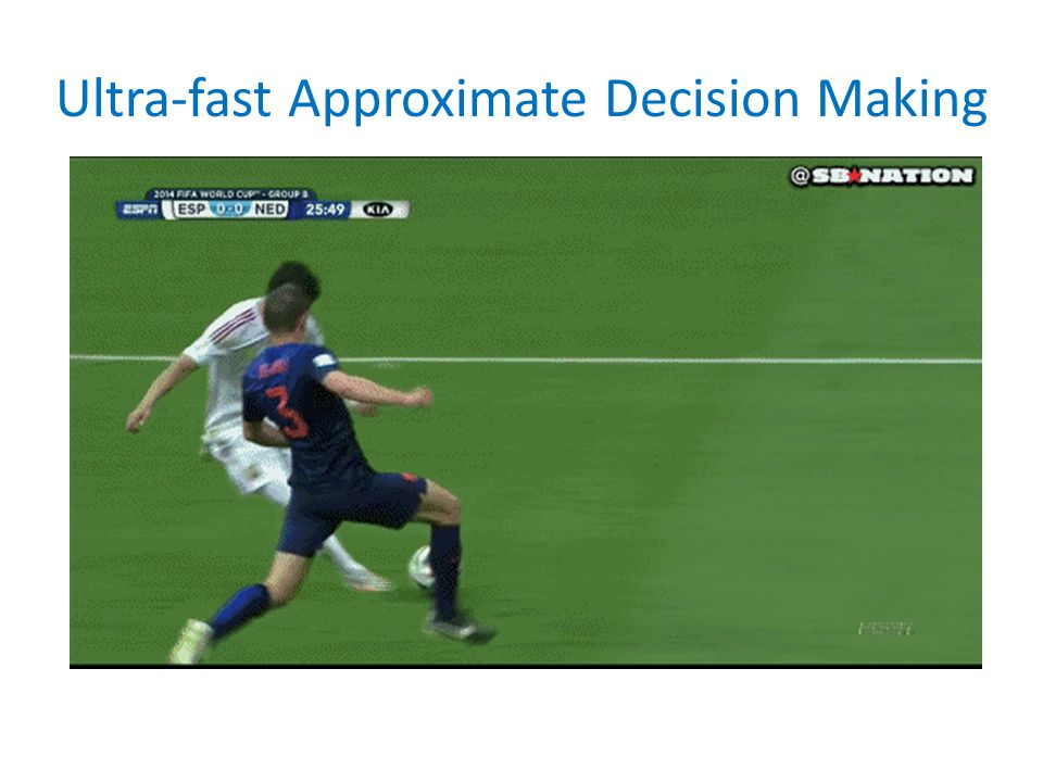 Ultra-fast Approximate Decision Making