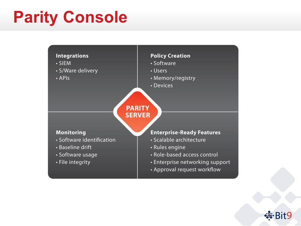 Parity Console