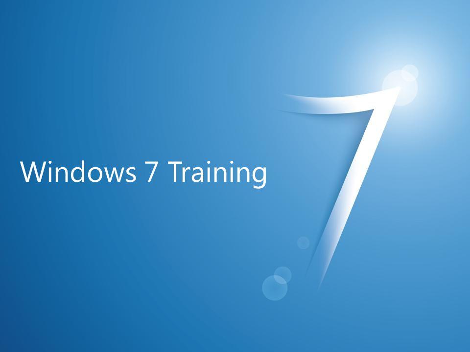 Windows 7 Training