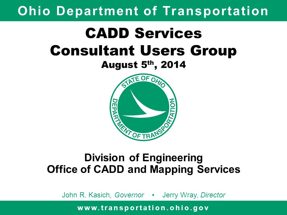 12 Redesigning of ODOTstd Update to current CADD Standards folder structure Compartmentalize Application Configurations and Standards Provide ODOT Group for Project and Support Tools Building new DGNLIB's for SELECTseries 3 CADD Services - Consultant Users Group Meeting The Future for ODOT CADD Standards