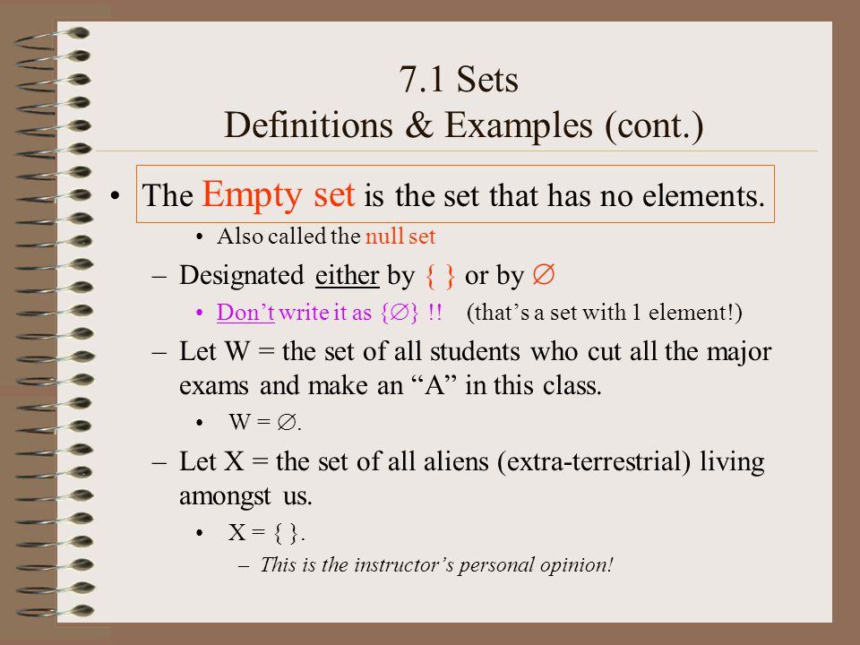 A set A is a subset of a set B iff every element of A is also an element of B.