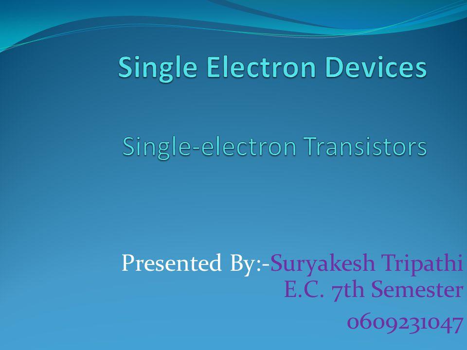 Presented By:-Suryakesh Tripathi E.C. 7th Semester 0609231047