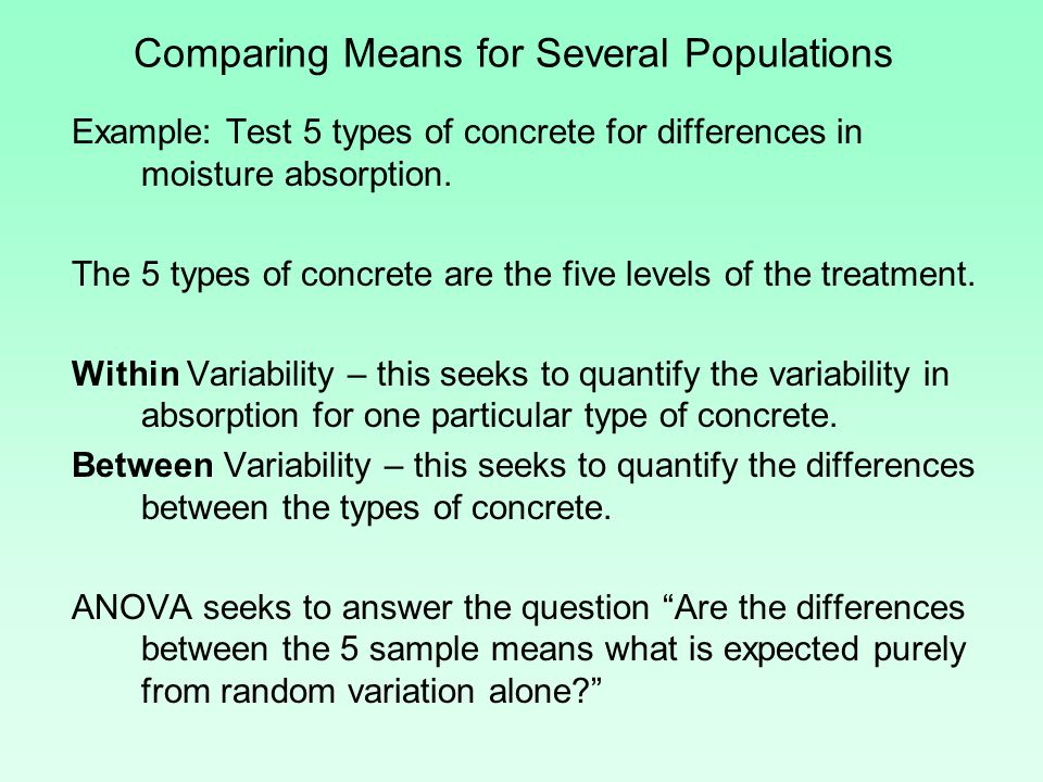 When should we use the multiple comparison method.