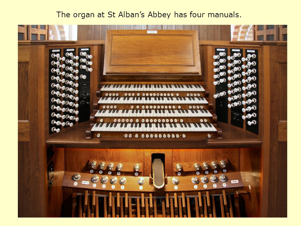 The Wanamaker organ in Philadelphia has six manuals.