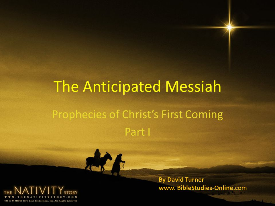 Messiah Will be Anointed By the Holy Spirit