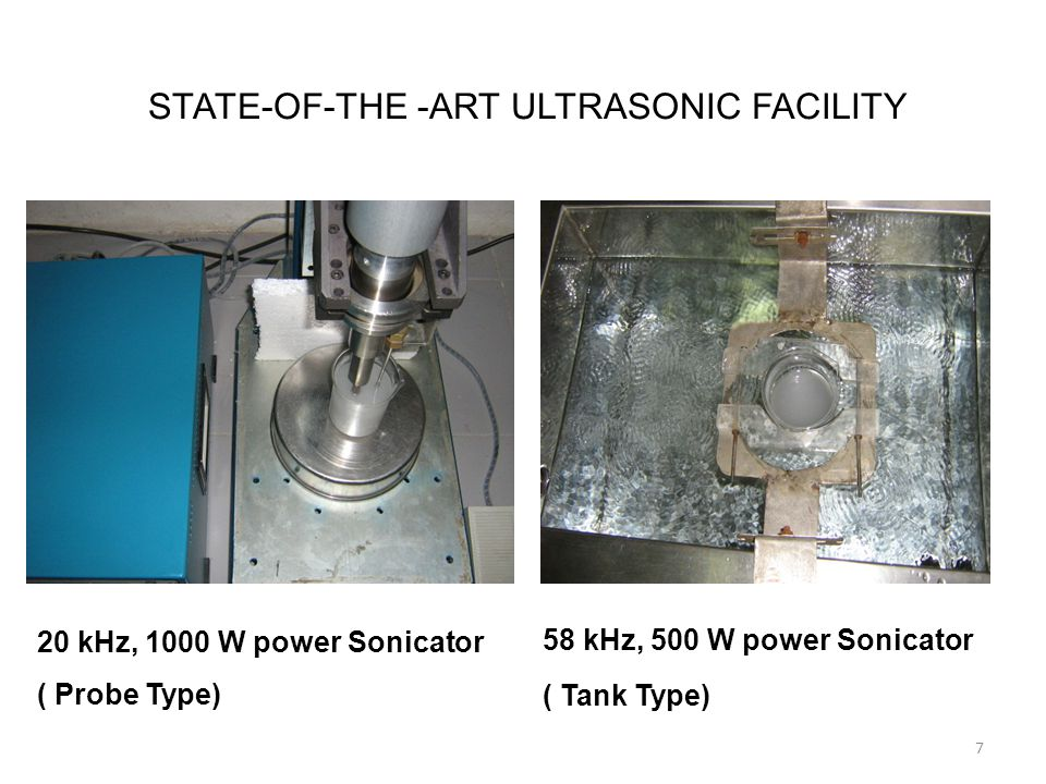 Acknowledgment Crest Ultrasonics Corporation (Trenton, NJ, USA) provided the sono-processing equipment used in this study.