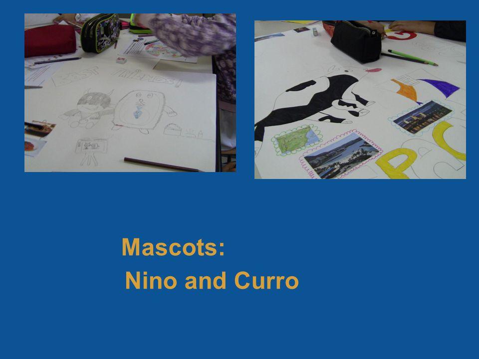 Mascots: Nino and Curro