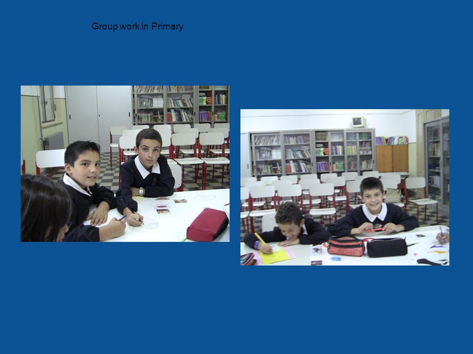 Group work in Primary