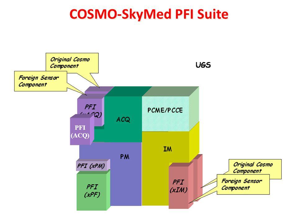 COSMO-SkyMed PFI Suite PFI (ACQ)