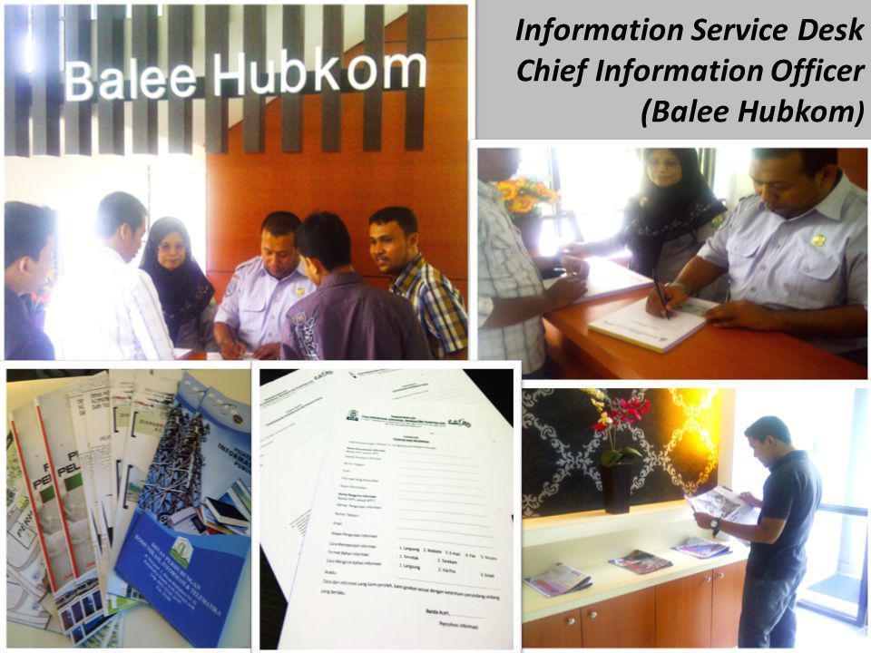 Information Service Desk Chief Information Officer (Balee Hubkom )