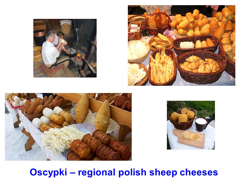 Oscypki – regional polish sheep cheeses