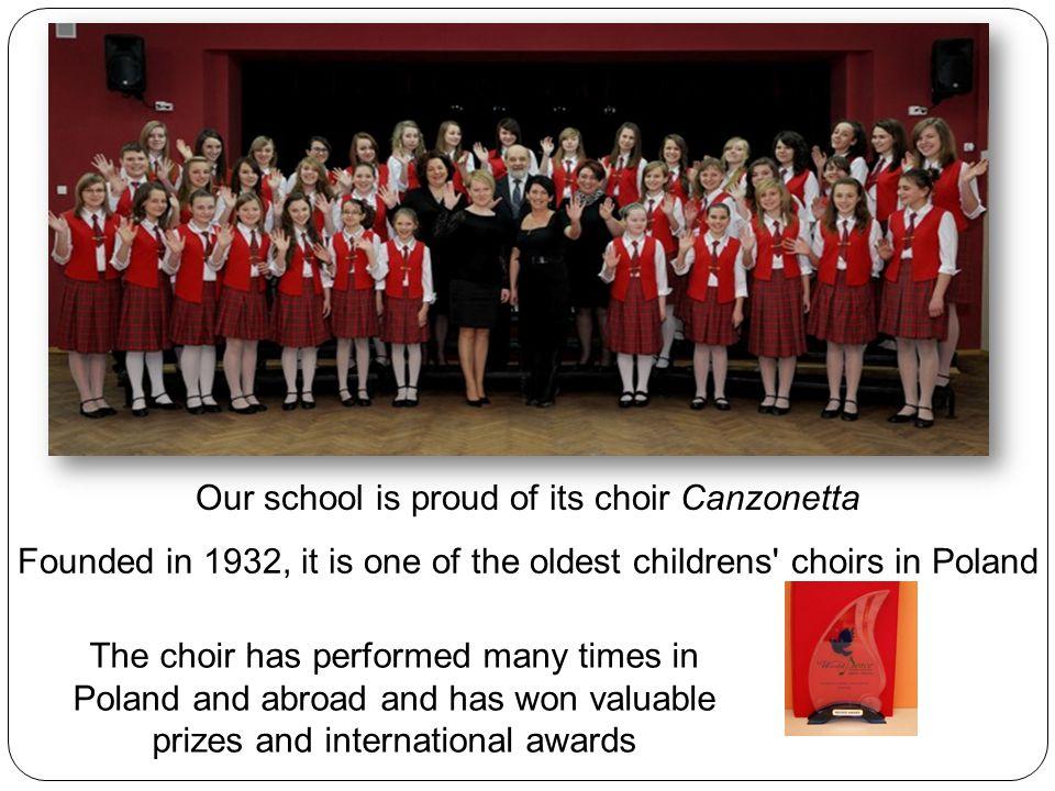School choir Canzonetta