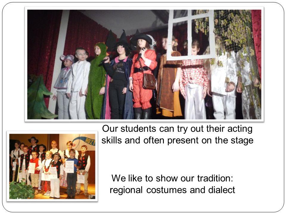 Drama – school performances