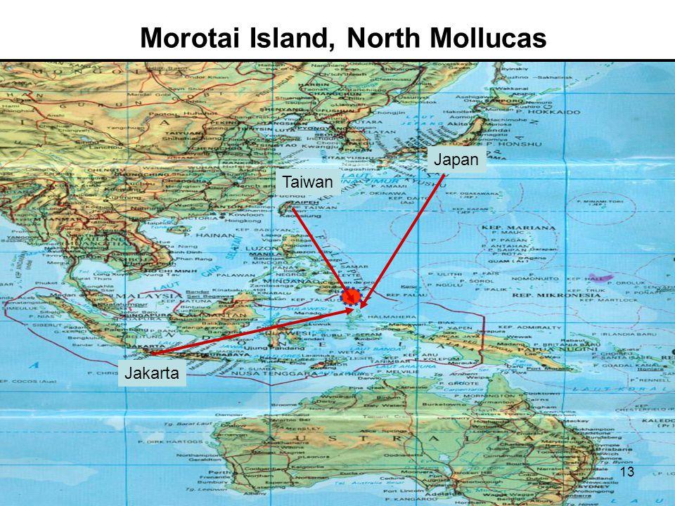 Morotai Island, North Mollucas Taiwan Japan Jakarta 13
