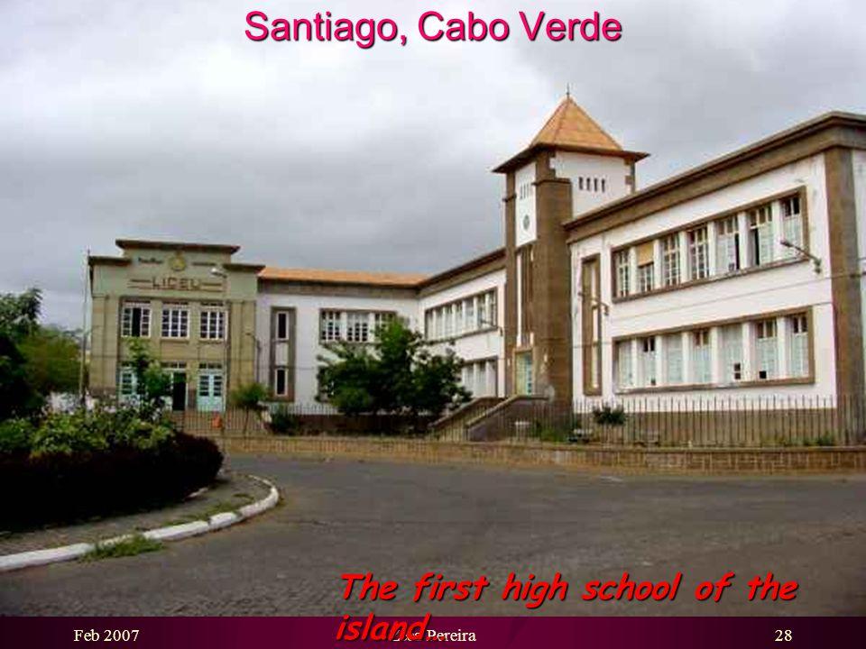 Feb 2007Zeca Pereira27 Santiago, Cabo Verde Traditional Portuguese style house …