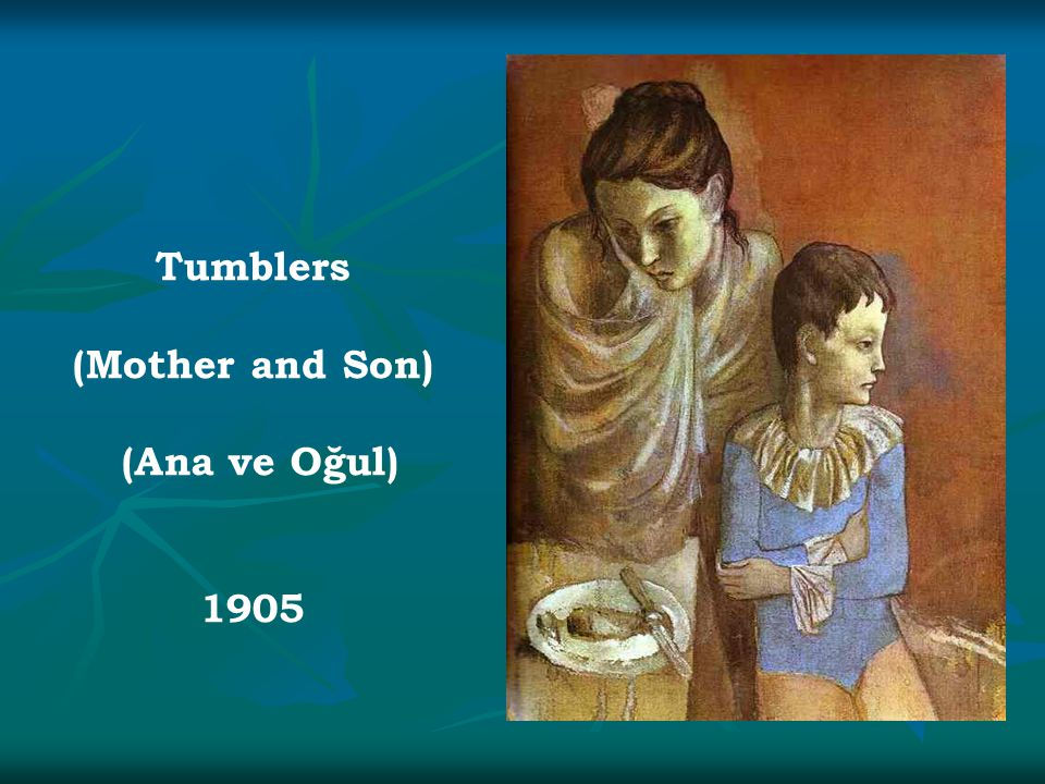 Tumblers (Mother and Son) (Ana ve Oğul) 1905