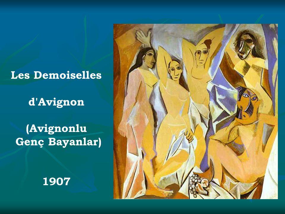 Les Demoiselles d'Avignon (Avignonlu Genç Bayanlar) 1907
