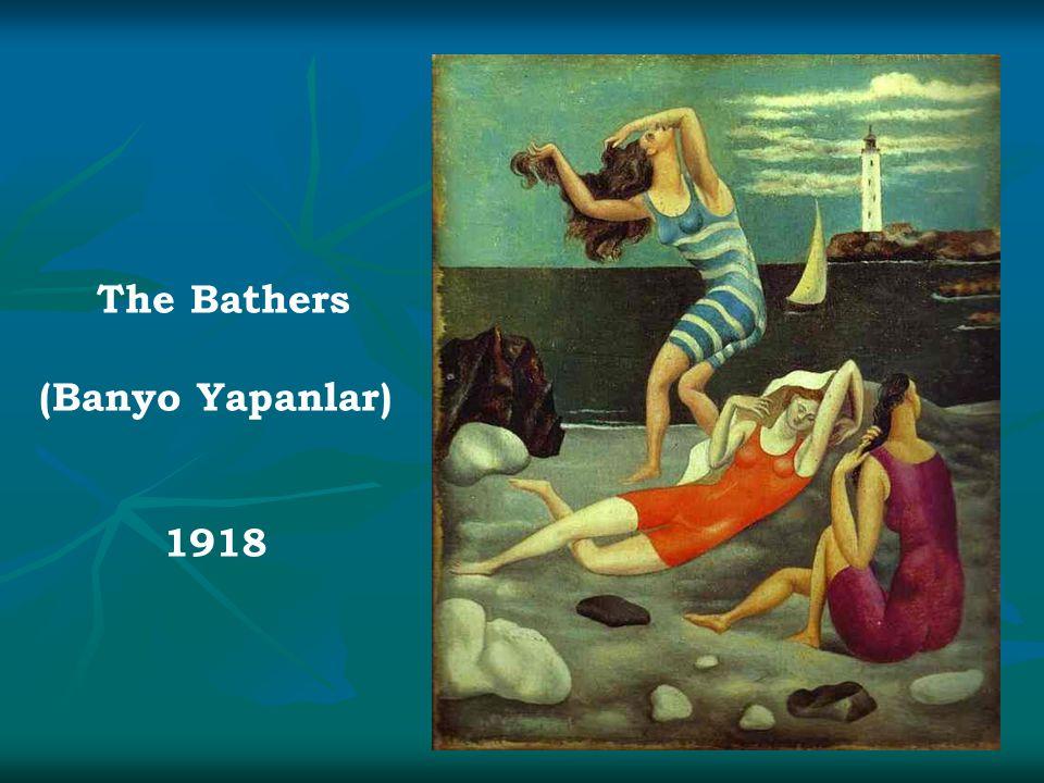 The Bathers (Banyo Yapanlar) 1918