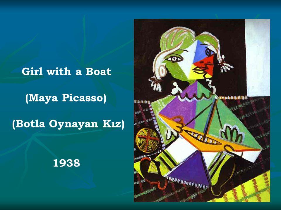 Girl with a Boat (Maya Picasso) (Botla Oynayan Kız) 1938