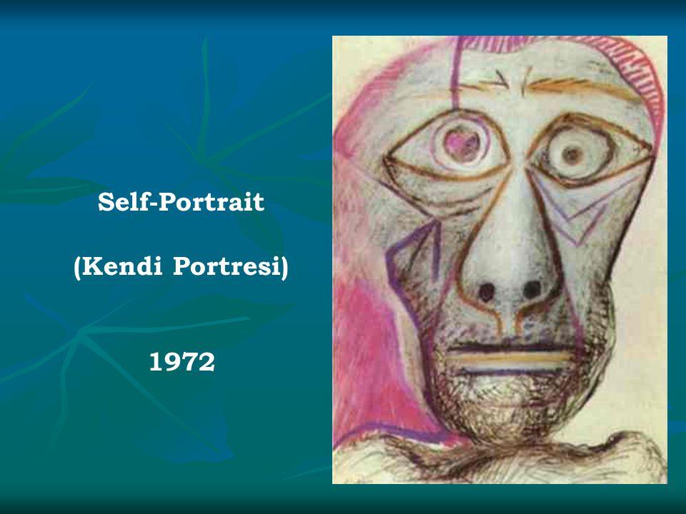 Self-Portrait (Kendi Portresi) 1972