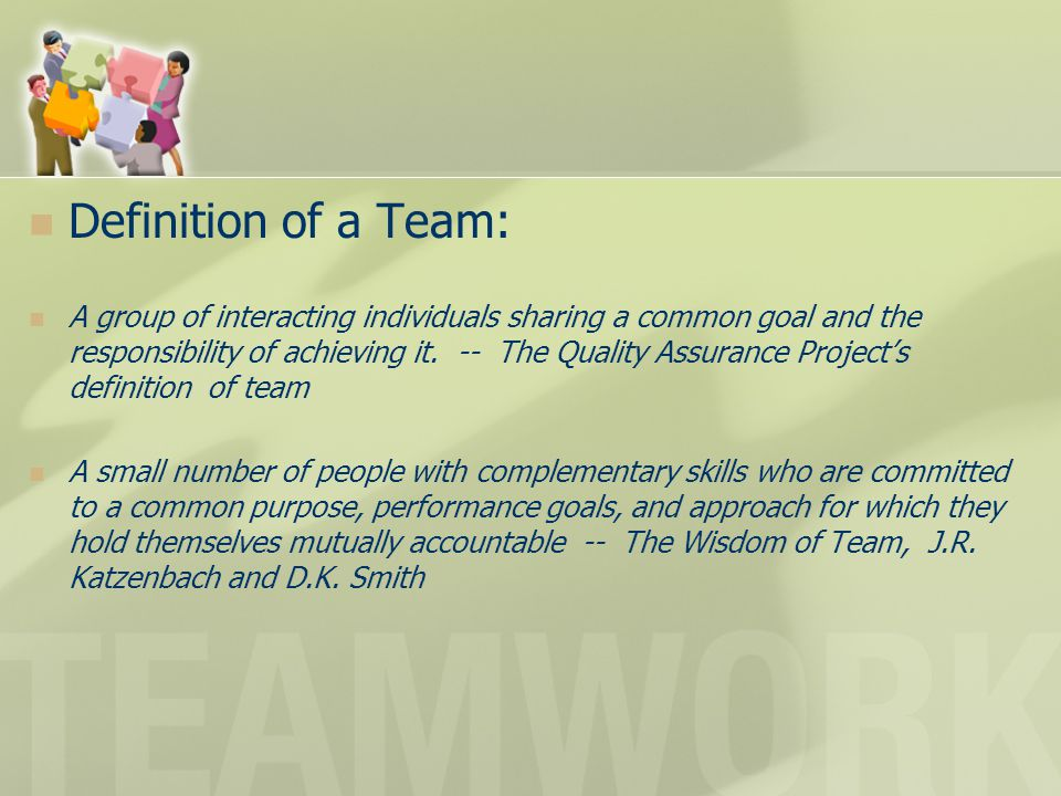 Qualities of a Good Team Member