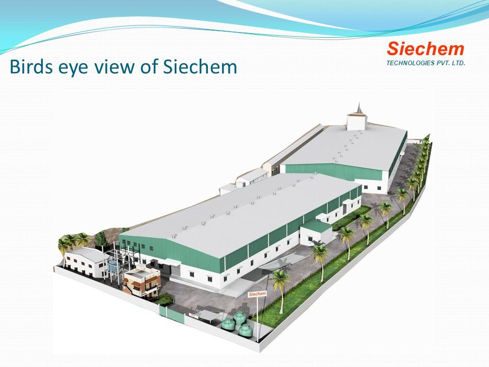 Birds eye view of Siechem Siechem TECHNOLOGIES PVT. LTD.