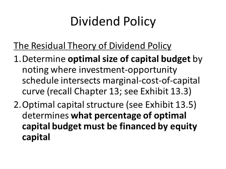 liquidating dividends