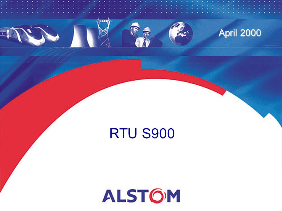 RTU S900 April 2000