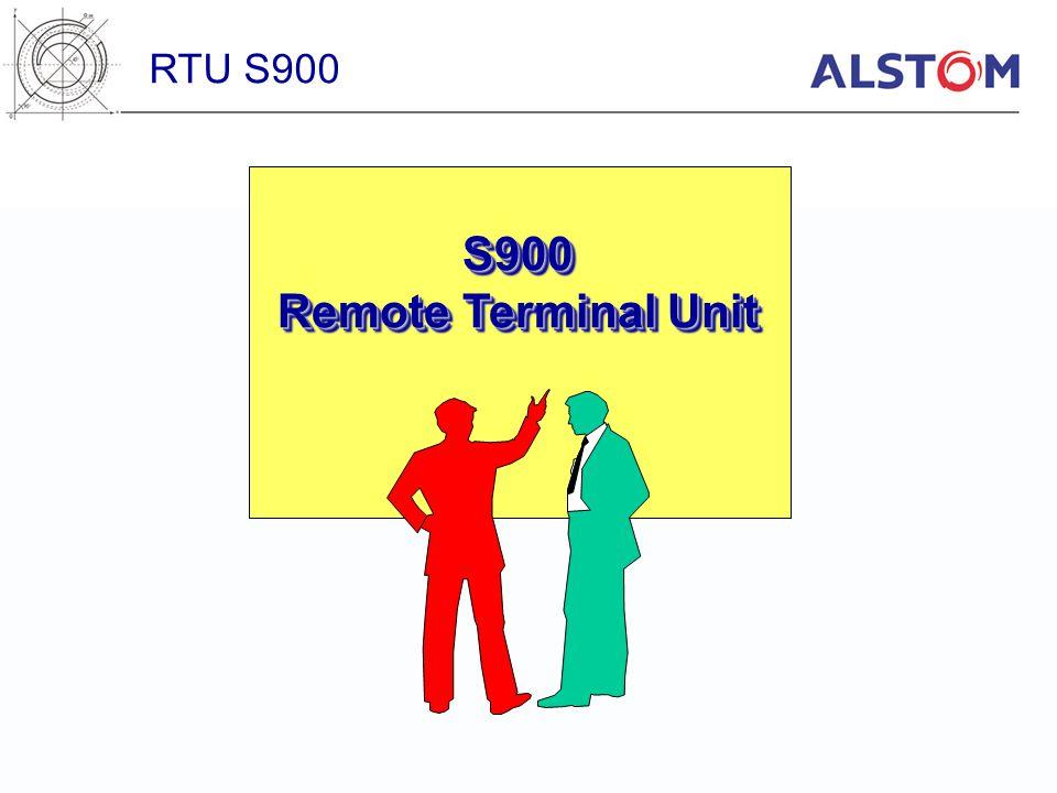 S 900 Field Bus FIP Distributed Racks Main Rack RTU S900