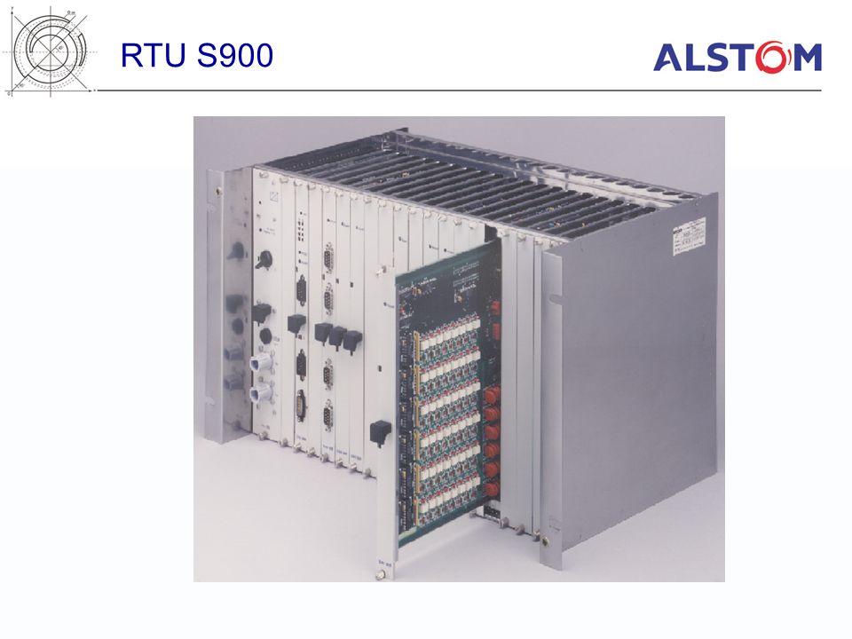 FBS 910- FIP bus communication unit –VLSI FULLFIP chip –FIPLD1 medium driver (twister pair) –Line insulation: 2.1kV peak at 50Hz –Line speed: 1Mbit/s –Front-panel 9-pin connector –Module width: plugged on CPU 900 RTU S900