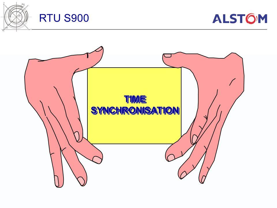 TIMESYNCHRONISATIONTIMESYNCHRONISATION RTU S900