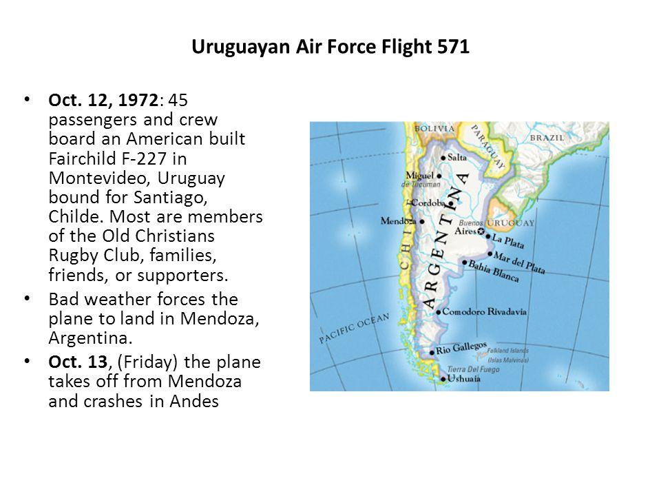 Uruguayan Air Force Flight 571 Oct.