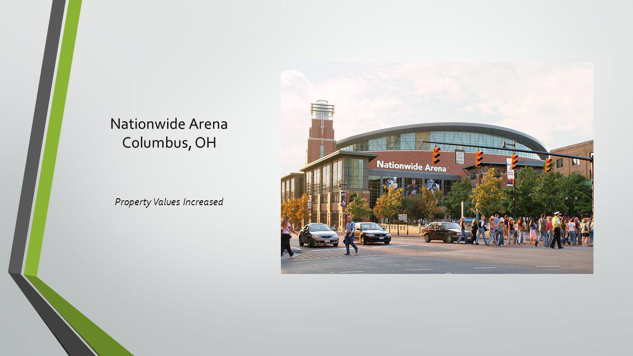 Nationwide Arena Columbus, OH Property Values Increased
