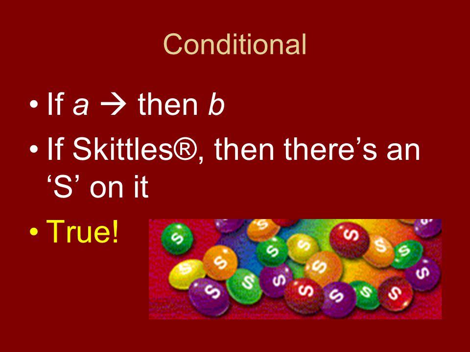 Converse If b  then a